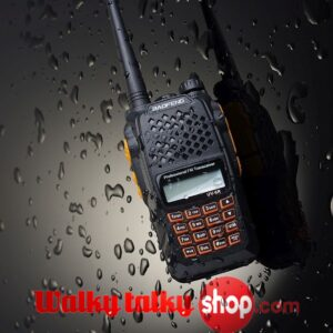 Baofeng UV-6R Handheld UHF VHF Dual Band Analog Two-way CB Radio