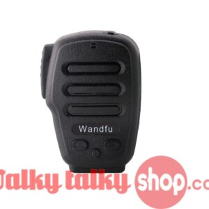 Wandfu H3-B Prof Bluetooth PTT WalkieTalkie Speaker Mic for iOS Android Zello ESchat GroupTalk