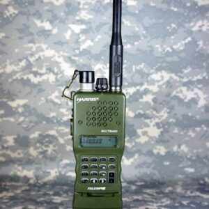 HARRIS PRC-152UV Multiband Triumph Instrument Two Way Radio Military Walky Talky