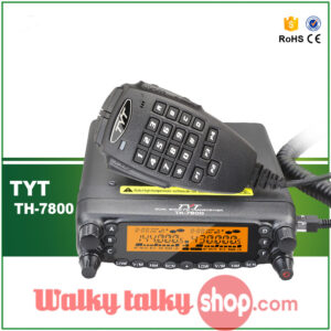 TYT TH-7800 Dual Band Mobile Transceiver with Cross Band Repeater
