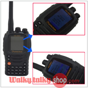Wouxun KG-D901 DMR Digital Walky Talky UHF 1000CHS