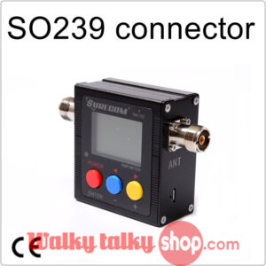 SURECOM SW-102 V.S.W.R. POWER METER WITH SO239 connector