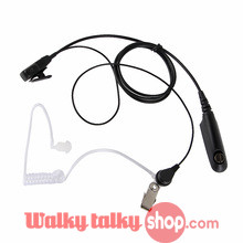 Acoustic Tube Earpiece PTT for Baofeng BF-A58 BF-9700 UV-9R UV-5RWP Waterproof Two Way Radio FBI Surveillance Security Headset