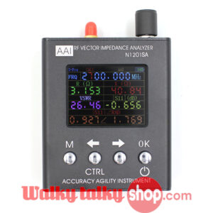 English Vesion UV/GSM Antenna Analyzer 35mhz-2700mhz N1201SA+ New Style 2017