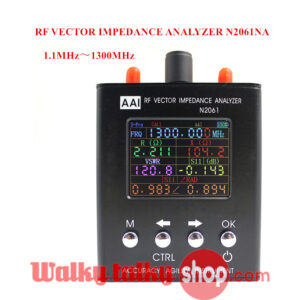 High Quality Short Wave Antenna Analyzer 1.1MHz~1300MHz NEW Upgraded English Version N2061SA