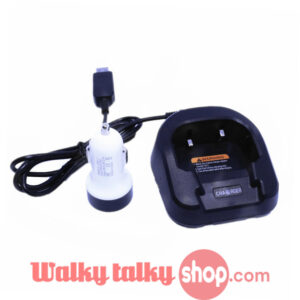Car Cigarette Lighter USB Cable Battery Charger for Baofeng UV-82 Two Way Radio