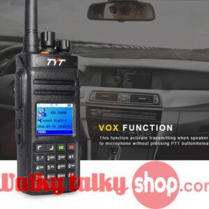 TYT MD-398 DMR Digital Walky Talky GPS Waterproof IP67 High Power 10W UHF 400-470MHz Portable Radio Communicator