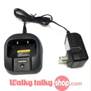 Desktop Charger with Adapter for Baofeng BF-UVB2 PLUS Two Way Radio Free Shipping