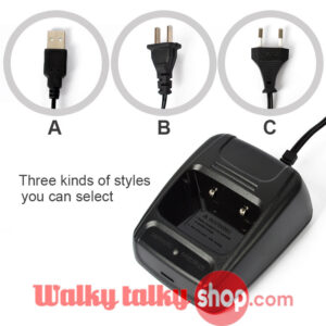 Desktop Charger Special For Baofeng BF-888s Radio With USB EU US Plug