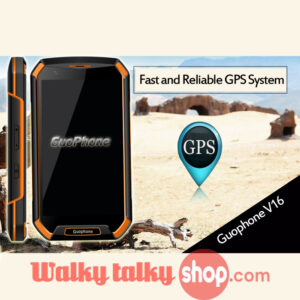 Guophone V16 Zello Walky Talky PTT SmartPhone Waterproof IP68 5inch 4800mah Android 5.0