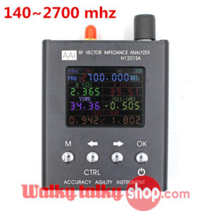 Antenna Analyzer GSM UV RF Frequency Test Range 140mhz-2700mhz N1201SA