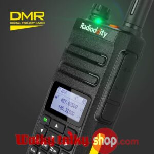 Cheap Radioddity GD-77 Dual Band UHF VHF DMR Dual Time Slot Digital/Analog Ham Walkie Talkie