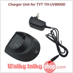 New 110-260V Desktop Charger with AC Adapter for TYT TH-UV8000D TH-UV8000E