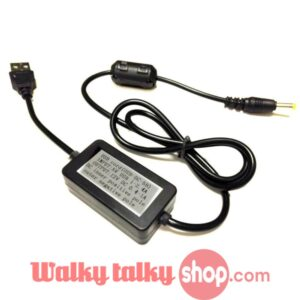 USB-DC-5B Cord USB Charger Cable Battery Charger for YAESU Walkie Talkie Two Way Radio Free Shipping