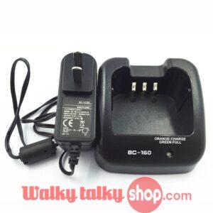 Smart Intelligent Desktop Charger BC-160 For Icom Portable Radio Free Shipping