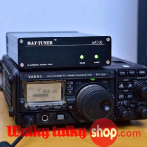 120W 3M-54MHz Fully HF Automatic Antenna Tuner For Yaesu Octopus VERTEX STANDARD CB Radios mAT-30