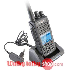 TYT TyteraMD-390 with GPSIP67 Waterproof DMR HT WalkieTalkie VHF 136-174MHz UHF 400-480MHz Handheld Two Way Radio