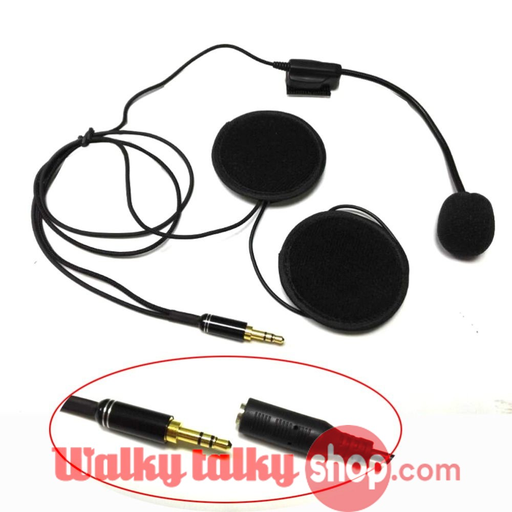 Hytera Helmet Headset Microphone for HYT PD780 PD980 PD700 PD788 PT580  Walky Talky