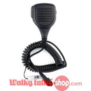Handheld Mini IP54 Waterproof Speaker Microphone K-SM06 for Walky Talky