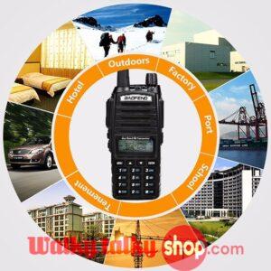 Baofeng Pofung UV-82TP FM Transceiver High Power 8W Dual Band UHF VHF Portable Two Way Radio