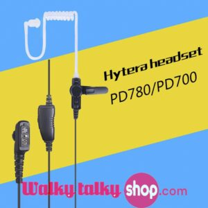 Walky Talky Surveillance AirTube Security Headset For HYT PD780 PD782 PD785 PD786 PD788