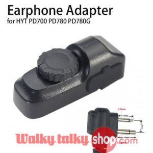 Walky Talky Earphone Adapter For HYT PD700 PD780 PD780G
