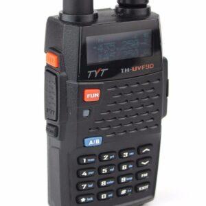 Tri-band Walkie Talkie TYT TH-UVF9D220-260MHz or 136-174MHz 350-390MHz 400-470MHz