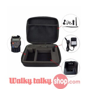 Walkie Talkie Storage Box Handbag Handy Carrying Radio Case Middle Size For Camera Free Shipping