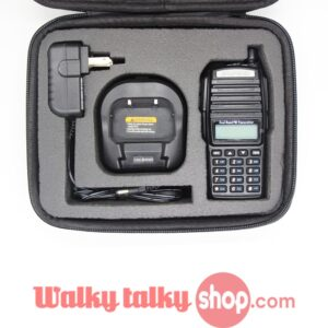 Two Way Radio Handbag Protect Case Bag for Motorola GP340 GP328 Baofeng UV-82 UV-8D UV-6 Camera