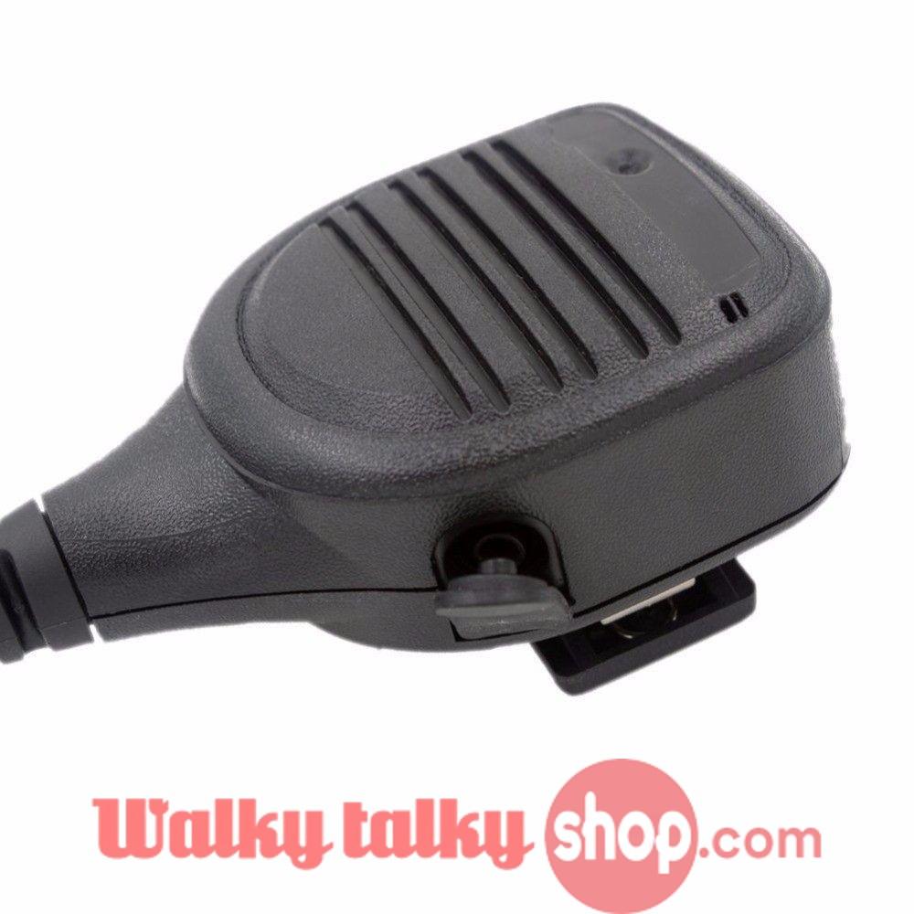 Heavy Duty Speaker Microphone Mic PTT IP54