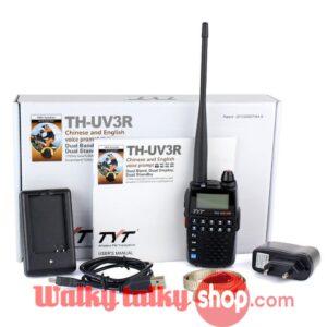 TYT TH-UV3R Handheld Walkie Talkie Dual Band Dual Display Dual Standby