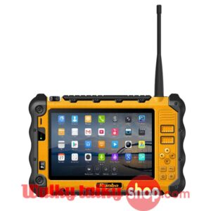 Discounted Runbo P12 Rugged Waterproof Tablet PC DMR Phone PDT POC MPT1327 UHF VHF PTT Analog Radio