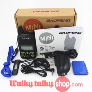 BAOFENG BF-T1 MINI Radio UHF 400-470MHz FM Transceiver With PTT Earpiece