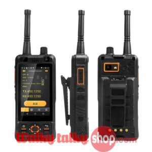 SURE 8S Walkie Talkie Android Smartphone DMR/Analog Dual Mode UHF 400-470MHz Support Zello PTT A-GPS BDS Camera Wifi