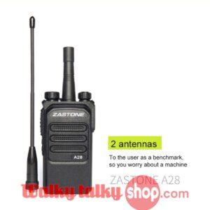Zastone ZT-A28 Walky Talky 10W UHF 400-480MHz  Portable FM Transceiver
