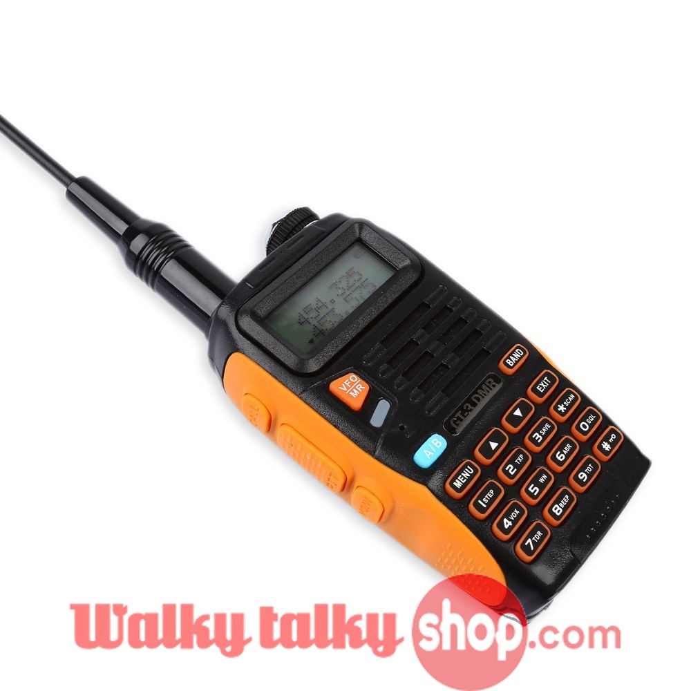 Baofeng GT-3 DMR Mark IV Dual Band VHF/UHF Walkie Talkie with DMR Function  Time Slot 1 Repeater