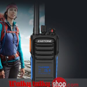 Zastone A18 Handheld Walky-Talky Hidden Display UHF 400-480Hz 199CHS 5W
