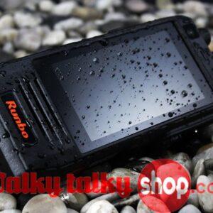 Runbo H1 4G LTE Tri-proof 4W DMR PTT Analog Radio Smart Phone
