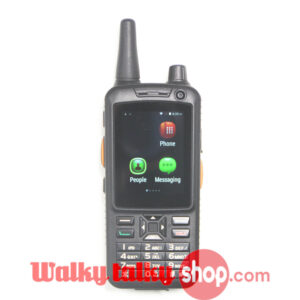 F82 Dual PTT Zello Radio GSM WCDMA Android Smartphone with HD Screen