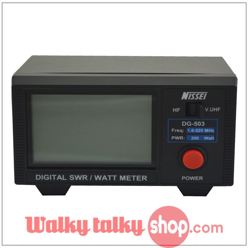 Digital Swr Meter : Nissei dg digital swr watt meter mhz