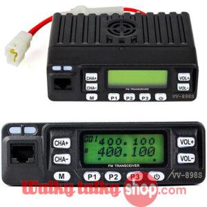 LEIXEN VV-898S Mobile Taxi Amateur Car Radio 25W Dual Band UHF VHF
