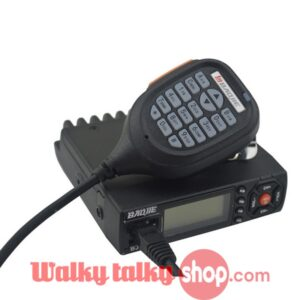 25W Mini Mobile Transceiver Baojie BJ-218 VHF and UHF Long Distance