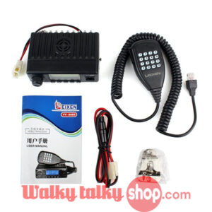 Small Car Mobile Transceiver LEIXEN VV-808S UHF400-470MHz 10W
