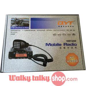 New Upgrade 70W Dual-Band HAM Mobile Transceiver QYT KT-UV980