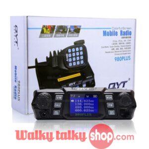 QYT 980PLUS Ham Mobile Vehicle Radio Highest Power 85W