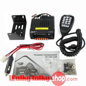 Upgraded QYT KT-8900R Tri-band Mini Car Radio for Bus Taxi