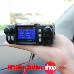 QYT KT-7900D Small Size Quad Band Portable Mobile Radio