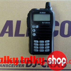 Alinco DJ-CRX5 Walkie Talkie VHF and UHF FM Transceiver