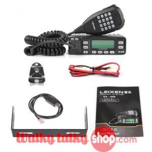 LEIXEN VV-898 Dual-Band Car Radio 10W 199CH