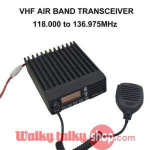 VHF AIR BAND TRANSCEIVER MOBILE RADIO FL-M1000A